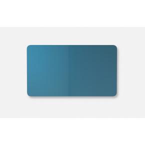 Lintex Mood Fabric Wall Glas, 175 x 100 cm, blå