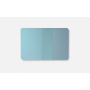 Lintex Mood Fabric Wall Glas, 200 x 100 cm, dueblå