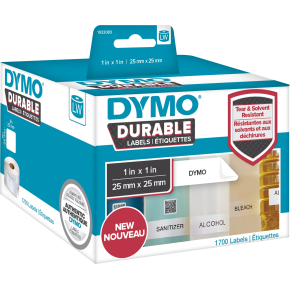 Dymo LabelWriter Durable etiketter str. 25 x 25 mm