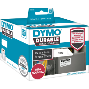 Dymo LabelWriter Durable etiketter str. 57 x 32 mm