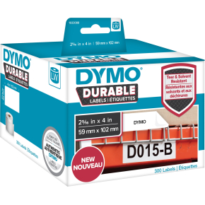 Dymo LabelWriter Durable etiketter str. 59 x 102mm