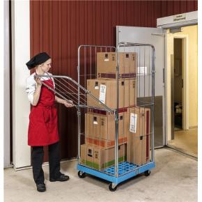 Rullecontainer med plastbund - 4 sider