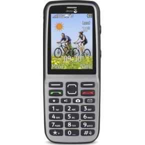 Doro PhoneEasy 530X, Stål/Sort, mobiltelefon