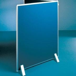 Silverlink akustikskillevæg 121,5x190 cm, blå