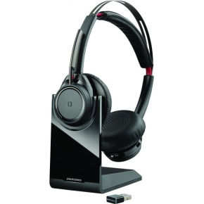 Plantronics Voyager Focus UC B825 Headset, sort