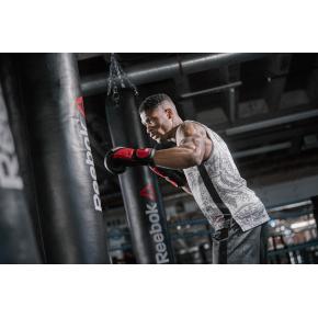 Reebok Combat boksehandsker i læder, 16 OZ