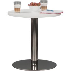 Silence lounge bord Ø60, H. 61 cm, hvid