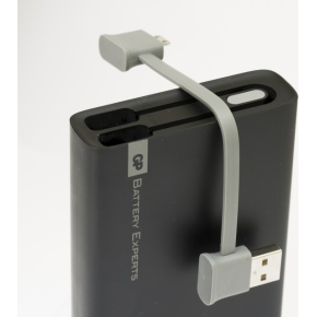 GP RC10A bærbar PowerBank GO, sort