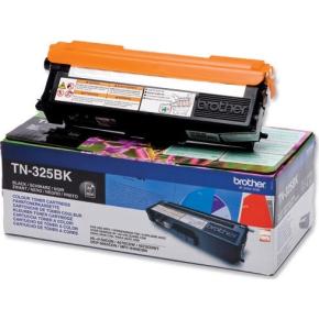 Brother TN325BK lasertoner, sort, 4000s