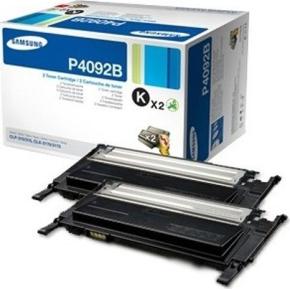 Samsung CLT-P4092B lasertoner, sort, 3000s, 2pk