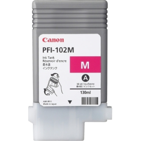 Canon PFI-102M blækpatron, rød, 130 ml