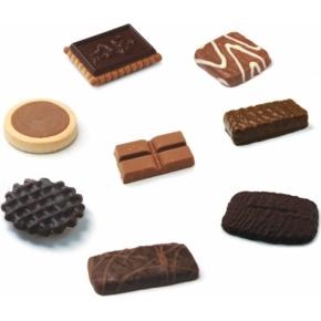 Sweet Moments kiks og chokolader, 120 stk. ass