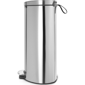 Brabantia Flatback Pedalspand 30 liter, mat stål
