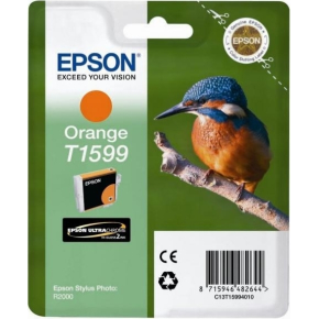 Epson T1599 blækpatron, orange, 17 ml