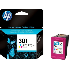 HP 301/CH562EE blækpatron, farve, 165s