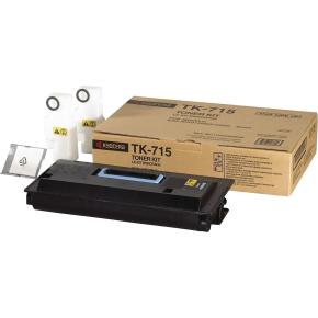 Kyocera TK-710  lasertoner, sort, 20000s