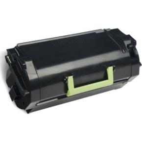 Lexmark 62D2H0E lasertoner, sort, 25000s