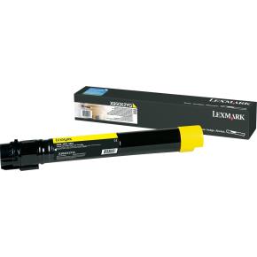 Lexmark C950X2YG lasertoner, gul, 24000s
