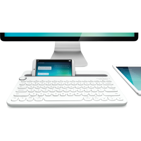 Logitech K480 BT Multi-Device keyboard, hvid