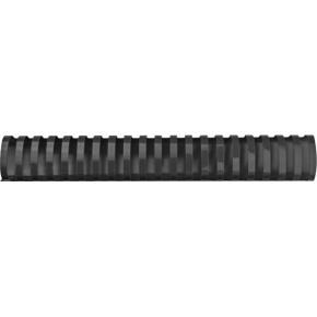 GBC Plast Spiralryg A4, 21 ringe, 38mm Oval, sort