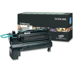 Lexmark C792A1YG lasertoner, gul, 6000s