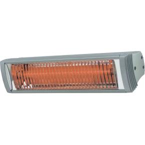 """Terrassevarmer """"RIO GRANDE"""" 2 kW, L:56 cm, Sølv"""