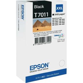 Epson nr.T7011/C13T70114010 blækpatron, sort, 3400