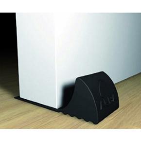 Dørstopper kile i sort gummi