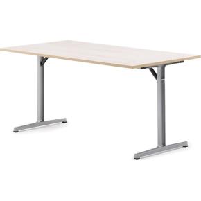e-Connect klapbord 180x60 cm bøg melamin
