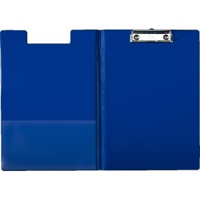 Esselte clipboard med forside A4, blå