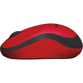 Logitech M220 Silent-mus, rød