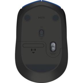 Logitech M171 Trådløs mus, blå