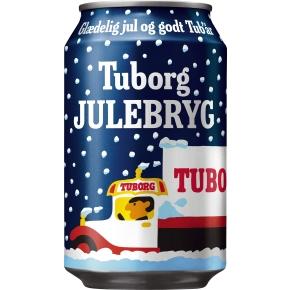 Tuborg Julebryg 33 cl inkl. pant