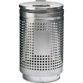 RMIG affaldsspand type 823U, grå