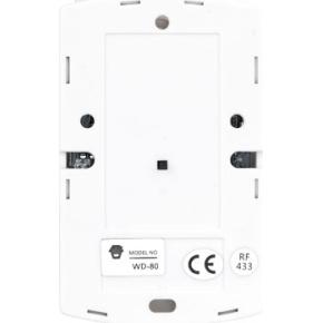 Trådløs vibrationsdetektor til SikkertHjem alarmer