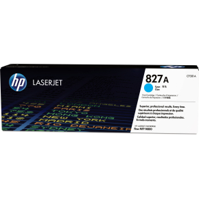 HP 827A/CF301A lasertoner, blå, 32000s