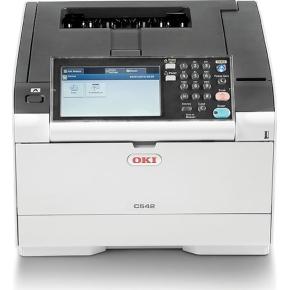 OKI C542dn A4 Farve laserprinter - køb til fast lav pris - Lomax A/S