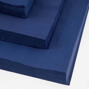 Papirserviet 33 x 33cm, 2-lag, 100stk, blå