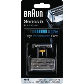 Braun 51s ekstra skæreblad og lamelkniv