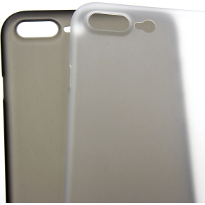 Twincase iPhone 7 plus case, transparent sort
