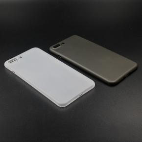 Twincase iPhone 7 plus case, transparent hvid