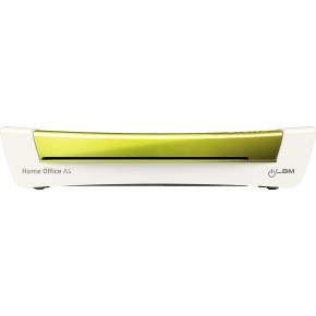 Leitz Lamineringsmaskine iLAM Home A4 hvid/grøn