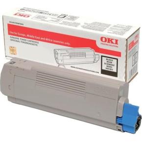 OKI 46507616 lasertoner, sort, 11.000s.