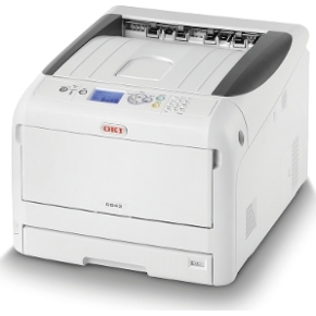 OKI C843dn laser farve printer