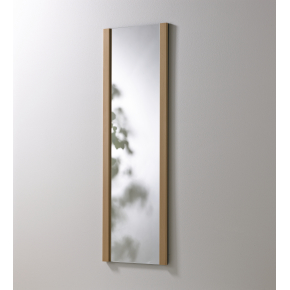 KNAX Spejl, 60 cm bredt, ahorn