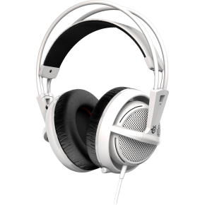 SteelSeries Siberia 200 gamer høretelefoner, hvid