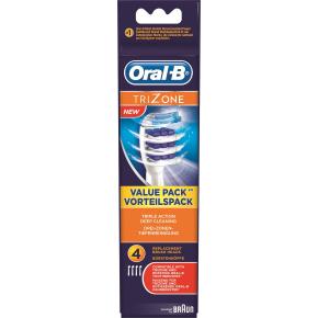 Oral-B TriZone elektriske børstehoveder 4 stk