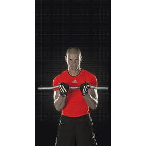 Adidas træningshandsker til vægtløft, X-Large