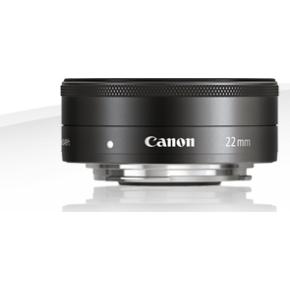 Canon EF-M 22mm f/2 STM pandekage objektiv