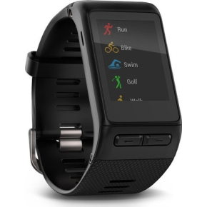 Garmin Vivoactive Smartwatch, sort